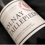 2005 Domaine Marquis D'Angerville Volnay Taillepieds