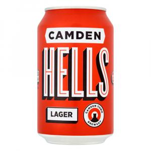 12 X Camden Town Hells Lager Cans