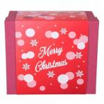2 X Mini Merry Christmas Cherry Brandy Gift Set Withs Frosted Shot Glass & Coaster
