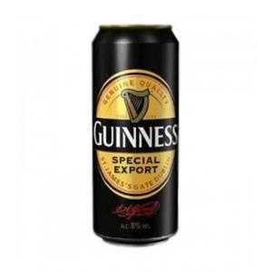 24 X Guinness 8 Special Export Lata Boîte 50cl
