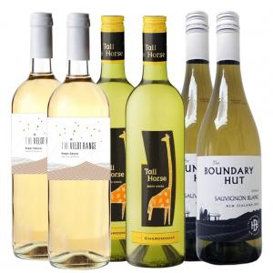 6 X 750ml White Wine Mixed Case Easy Drinking Wines
