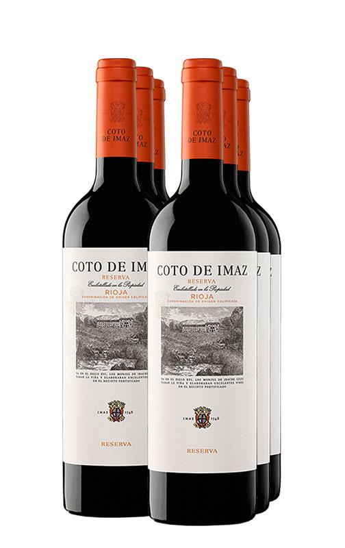 Buy 2015 6 X Coto De Imaz Reserva Price And Reviews At Drinks Co