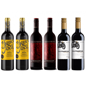 6 X The Perfect Anytime Red Wine Mixed Case