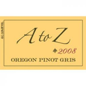 A to Z Pinot Gris 2008