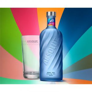 Absolut Movement Limited Edition con Bicchiere Highball In Omaggio