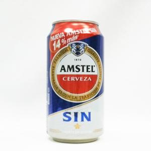 Amstel Sin Alcohol (Canette)