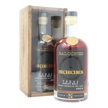 Balcones Hechiceros 10th Anniversary Port Cask Finished