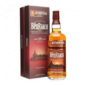 Benriach Authenticus Peated 25 Year old