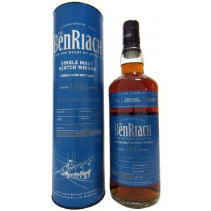 Benriach Peated Oloroso Sherry Single Cask 29 Year old 1986