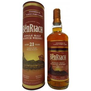 Benriach Tawny Port Wood Finish 21 Year old