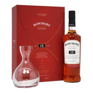 Bowmore 15 Years Whisky 70cl Decanter Gift