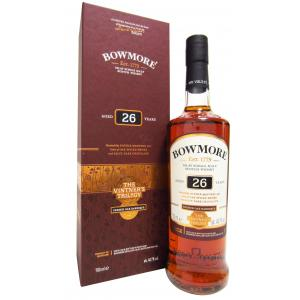 Bowmore Vintner's Trilogy 2nd Release 26 Years