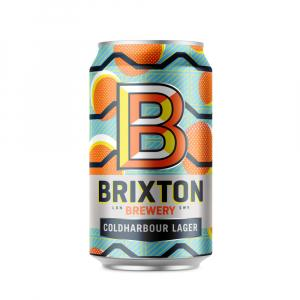 Brixton Brewery Coldharbour Lager Can
