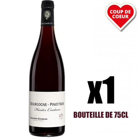Buisson-Charles Pinot Noir Hautes Coutures Bourgogne 2015