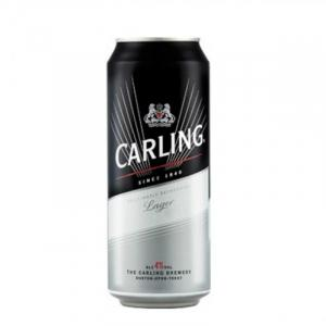 Carling Lager Can 50cl