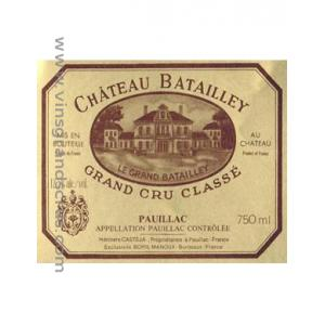 Château Batailley 1980