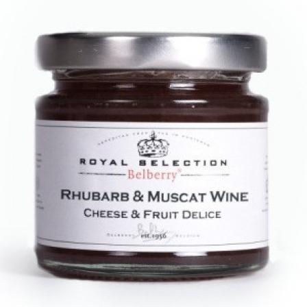 Cheese Delight Rhubarb and Muscat 130g