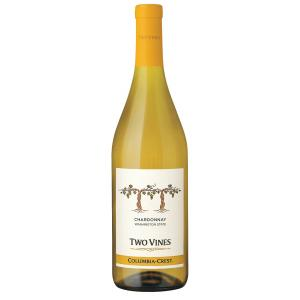 Columbia Crest Two Vines Unoaked Chardonnay 2018