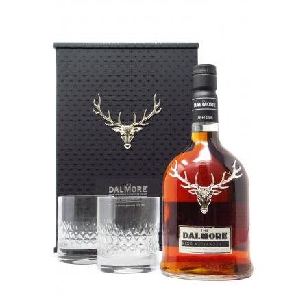 Dalmore King Alexander III Glas Gift Pack