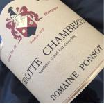 Domaine Ponsot Griotte Chambertin 2000