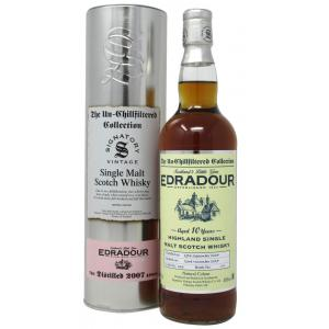 Edradour The Un-Chillfiltered Collection Single Cask 10 Year old 2007