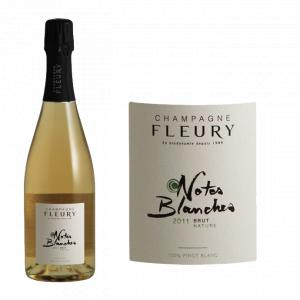 Fleury Notes Blanches Brut Nature 2011