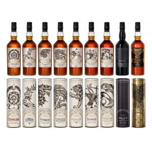 Game Of Thrones All 9 Bottles In The Complete Set