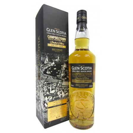 Glen Scotia Campbeltown Malts Festival 2019 Limited Release 15 Year old 2003