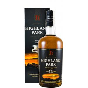 Highland Park 12 Anos Paper Label