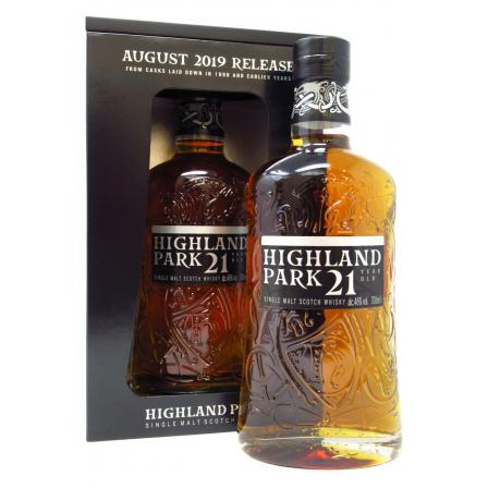 Highland Park August Release 21 Anni 2019