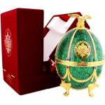 Imperial Collection Vodka Faberge Egg Green