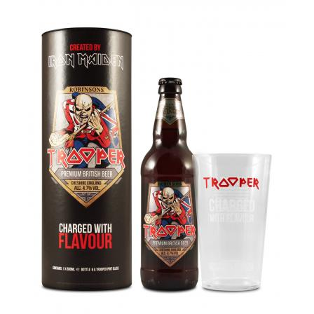 Iron Maiden Trooper Gift Pack 50cl