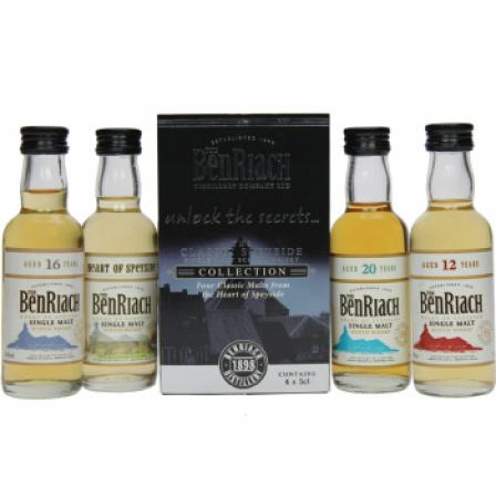Mini Benriach Collection Classic Speyside 4X50Ml