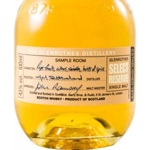 Miniature Glenrothes Select Reserve