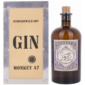 Monkey 47 In Caisse bois 50cl