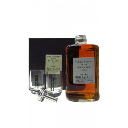 Nikka From The Barrel Bouteille & Verres Gift Pack 50cl