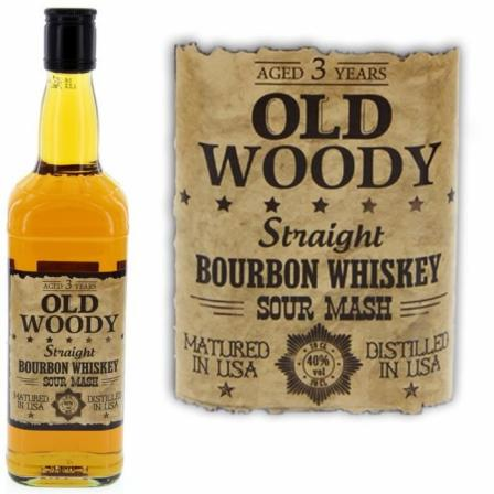 Old Woody Straight 3 Anos