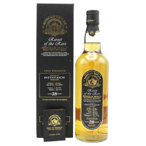 Pittyvaich Rarest Of The Rare Single Cask 28 Year old 1979