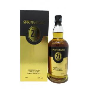 Springbank Campbeltown Edition 21 Year old 2018