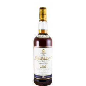 The Macallan 18 Años Sherry Cask 1983