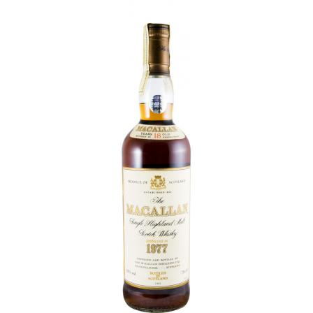 The Macallan 18 Ans Sherry Cask Bottled In 1995 1977