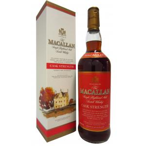The Macallan Cask Strength Red Label Usa Release 75cl