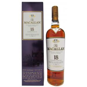 The Macallan Light Maghony Sherry Oak Annual Release 18 Year old 2016