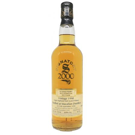The Macallan The Signatory Vintage Without Boîte 1990