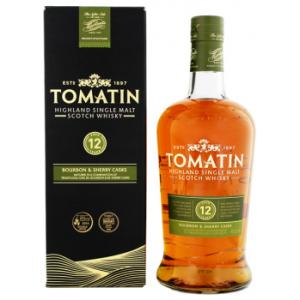Tomatin 12 Anys Sherry Cask 1L