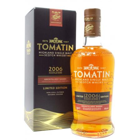 Tomatin Amontillado Sherry Finish Limited Edition 12 Ans 2006