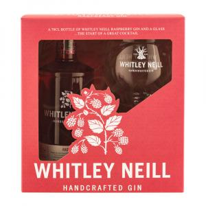 Whitley Neill Raspberry Gin 70cl Gift