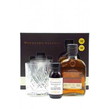 Woodford Reserve Old Fashioned Cocktail Syrup Giftpack & 200ml